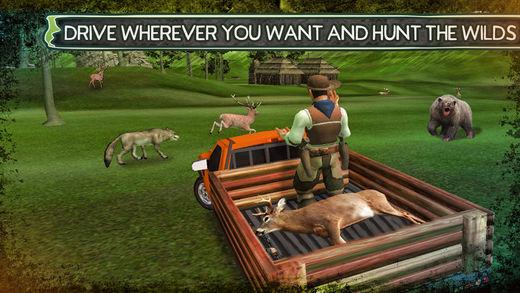 真正的野生动物野生动物猎捕模拟