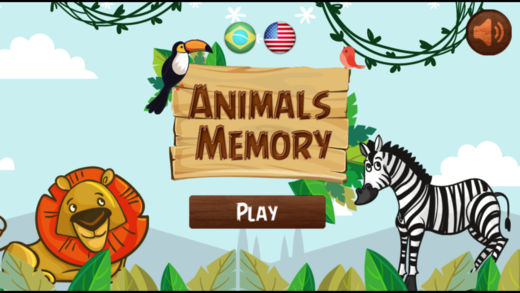 动物记忆翻牌