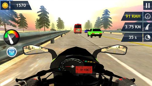 在摩托车冒险