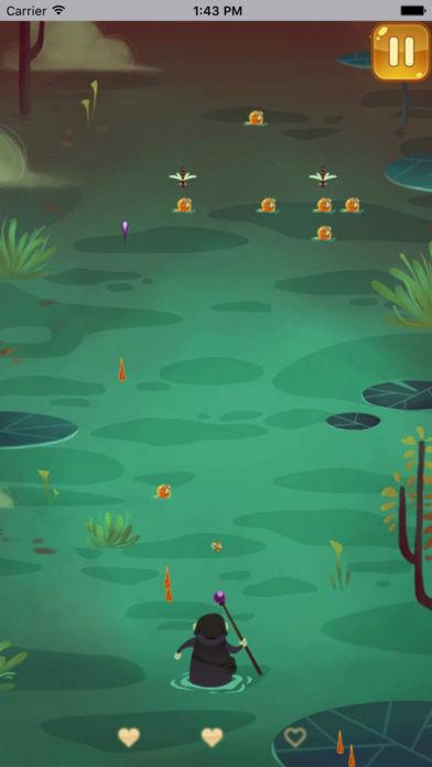 巫师大战沼泽怪-超具挑战性的闯关游戏