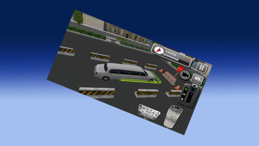 3D 豪华轿车停车模拟器