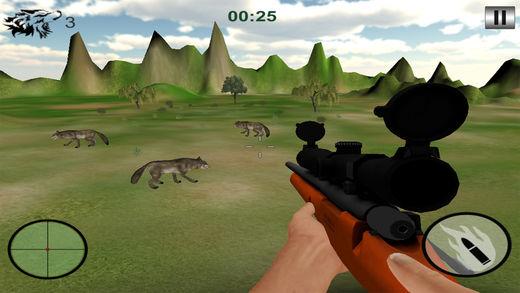 狼狩猎户外运动