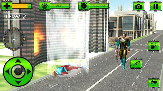 鬼 VS 机器人 战斗