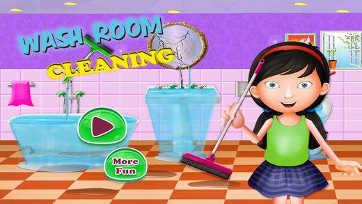 卫生间 修理 清扫 游戏