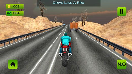 公路摩托城自行车比赛3D