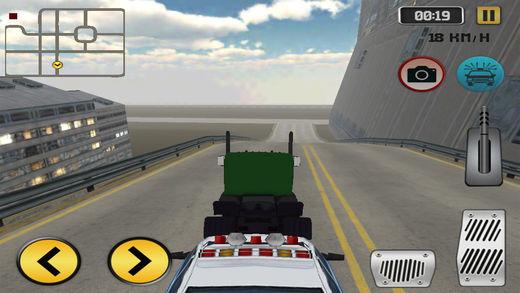 公路警车驾驶