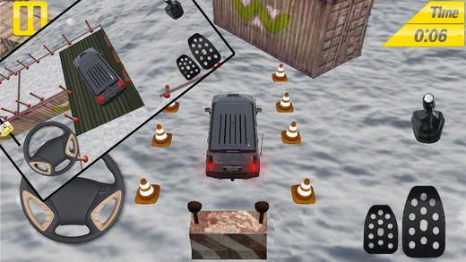 普拉多 雪 停车处