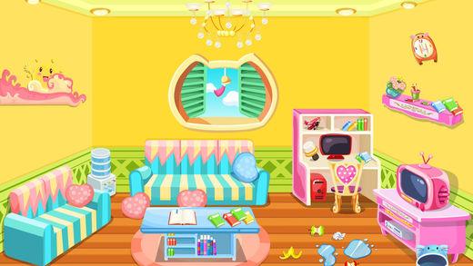 小公主整理娃娃屋