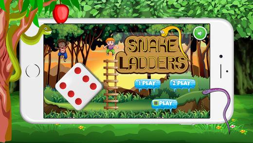 经典蛇和梯子游戏