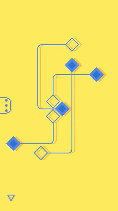 解开交叉的菱形路径线段