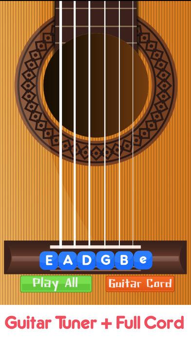吉他 调谐器  充分 绳 亲