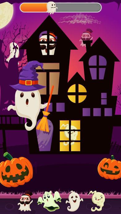 搞笑幽灵!令人兴奋的万圣节!捉住搞笑幽灵!