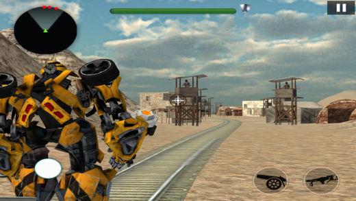 培养 机器人 转变 战斗