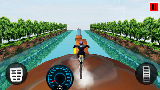 特技自行车水上赛车2018