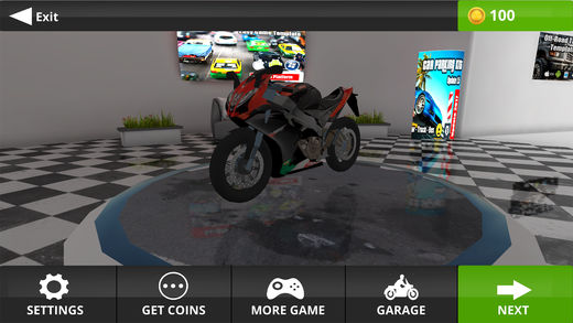 摩托车游戏