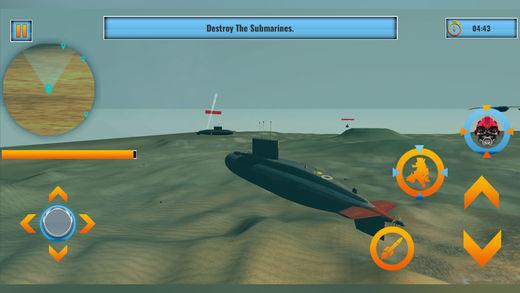 机器人潜艇作战