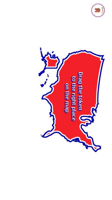美国地图格子猜谜游戏