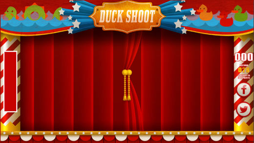 射击小黄鸭