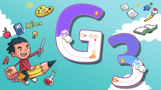 表学英语背单词识字画画游戏 ABC