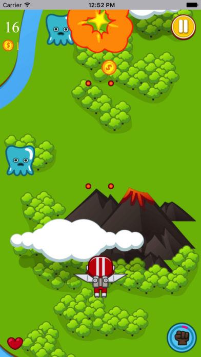 飞翔突击战-超具挑战的敏捷小游戏