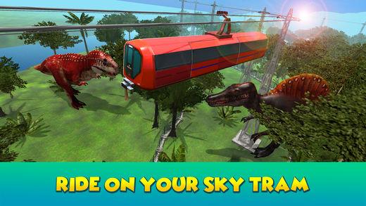 迪诺公园天空电车模拟器