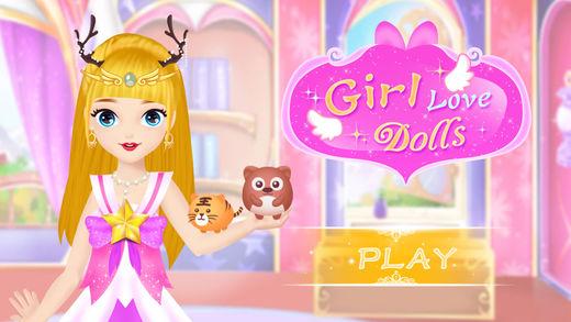 女孩换装抓娃娃