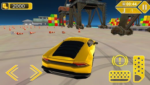 3D肌肉车漂移模拟器