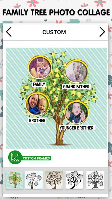 家庭树:相框
