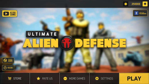 最终的外星人防御