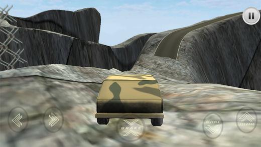 军队的狙击手的吉普车