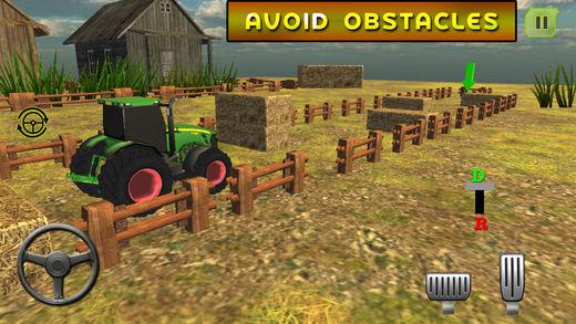 农村农用拖拉机司机3d