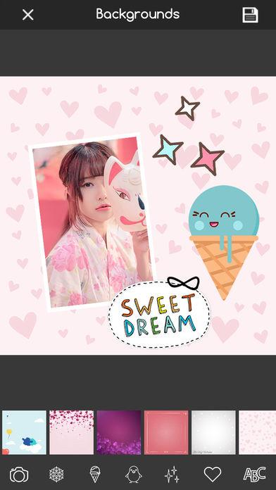 Kawaii Stickers 照片美化编辑