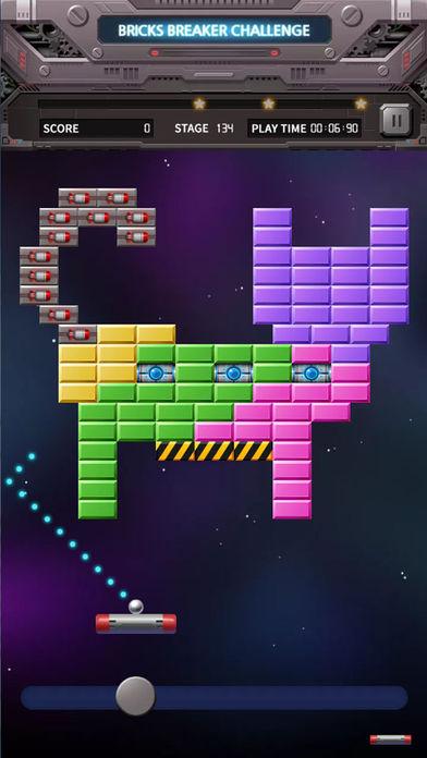 Bricks Breaker 挑战