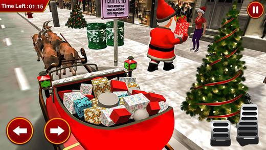 圣诞圣诞老人礼品亚军3D