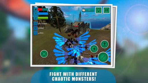 飞天使英雄战斗模拟器3D