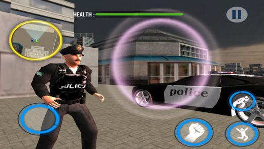 市 警察 追 害怕 小丑