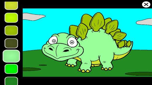 动物恐龙了解涂料