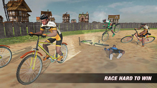 自行车台风赛车临