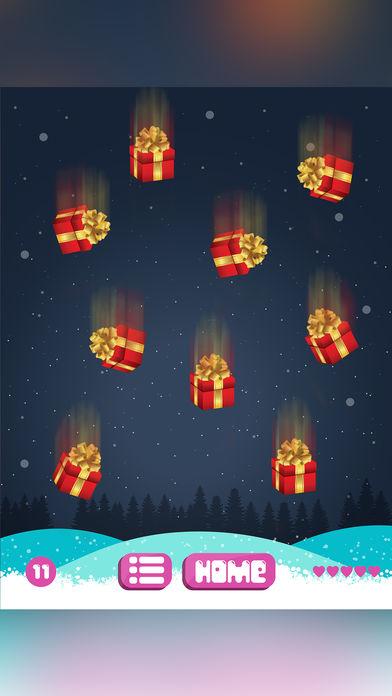 抓住圣诞老人礼物