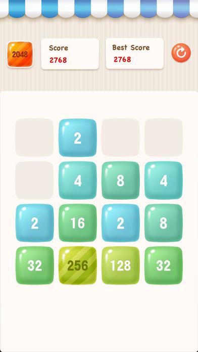 数字2048挑战