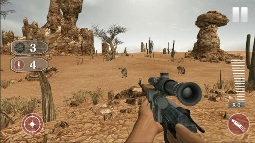 动物  狩猎  3D 步枪 射击