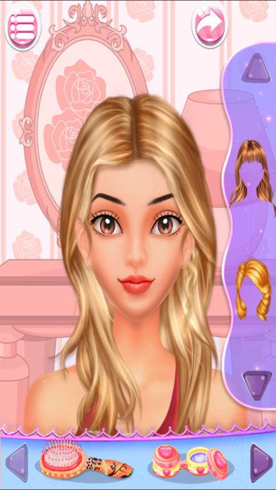 一个小而美丽的学校的公主 princess makeup