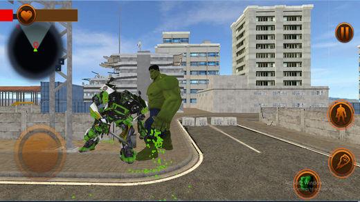 超级英雄战争VS机器人丽特