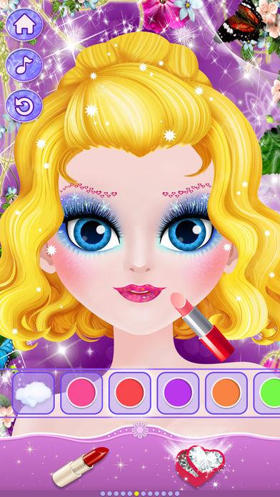 冰雪公主化妆秀一女孩换装游戏