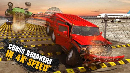 减速碰撞汽车碰撞德比3D