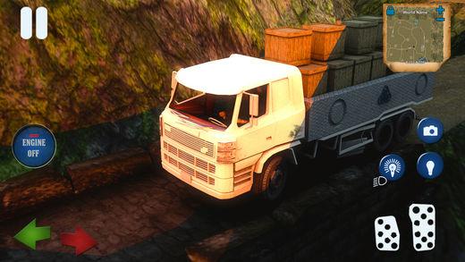 雪送货卡车驱动2018