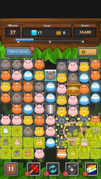 丛林 匹配 智力游戏