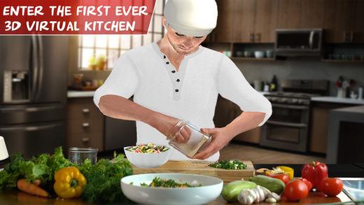 虚拟厨师烹饪游戏3D
