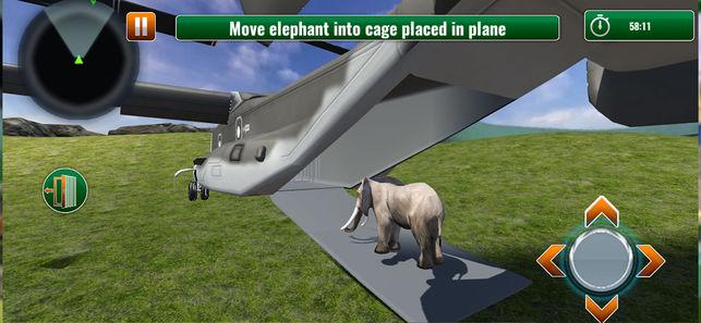 动物园动物运输