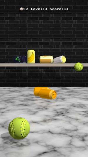 Toss3D: 砸易拉罐3D